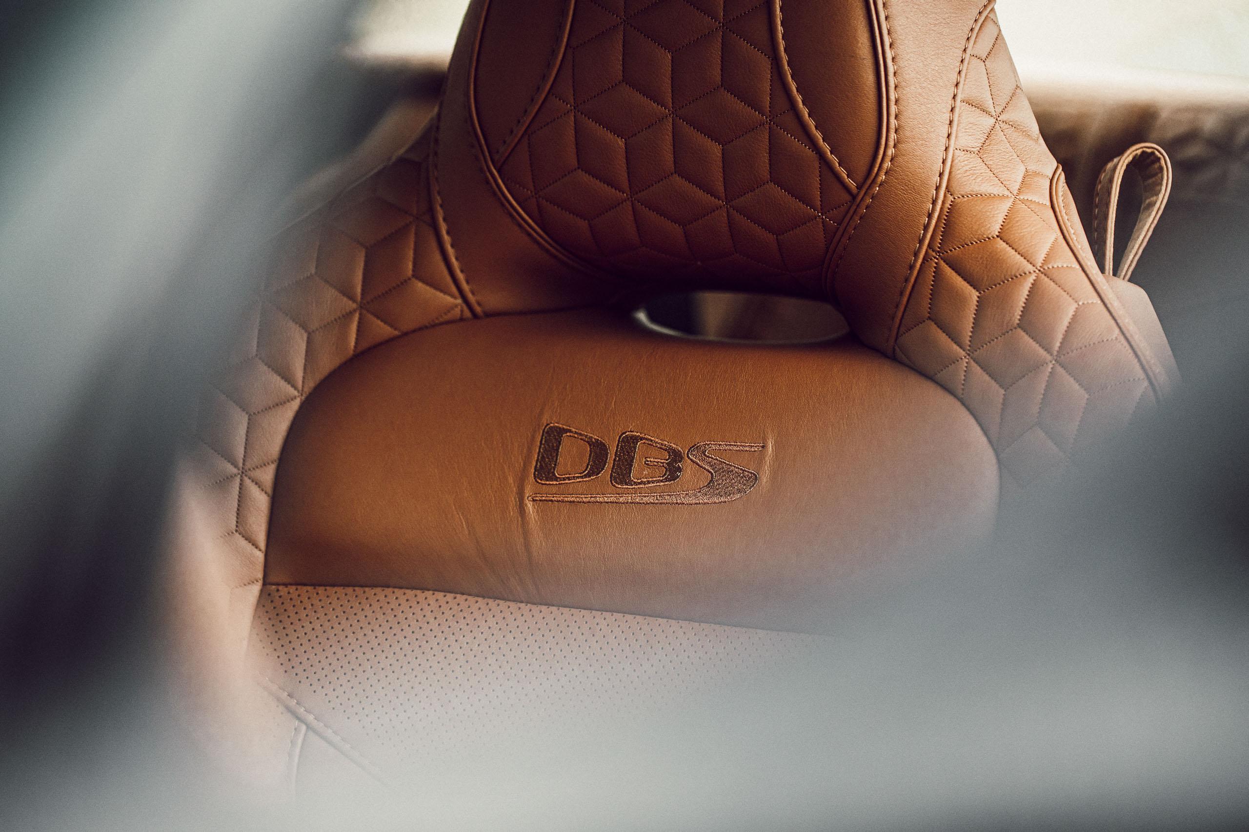 Aston Martin Geneva Ledersitzbezug