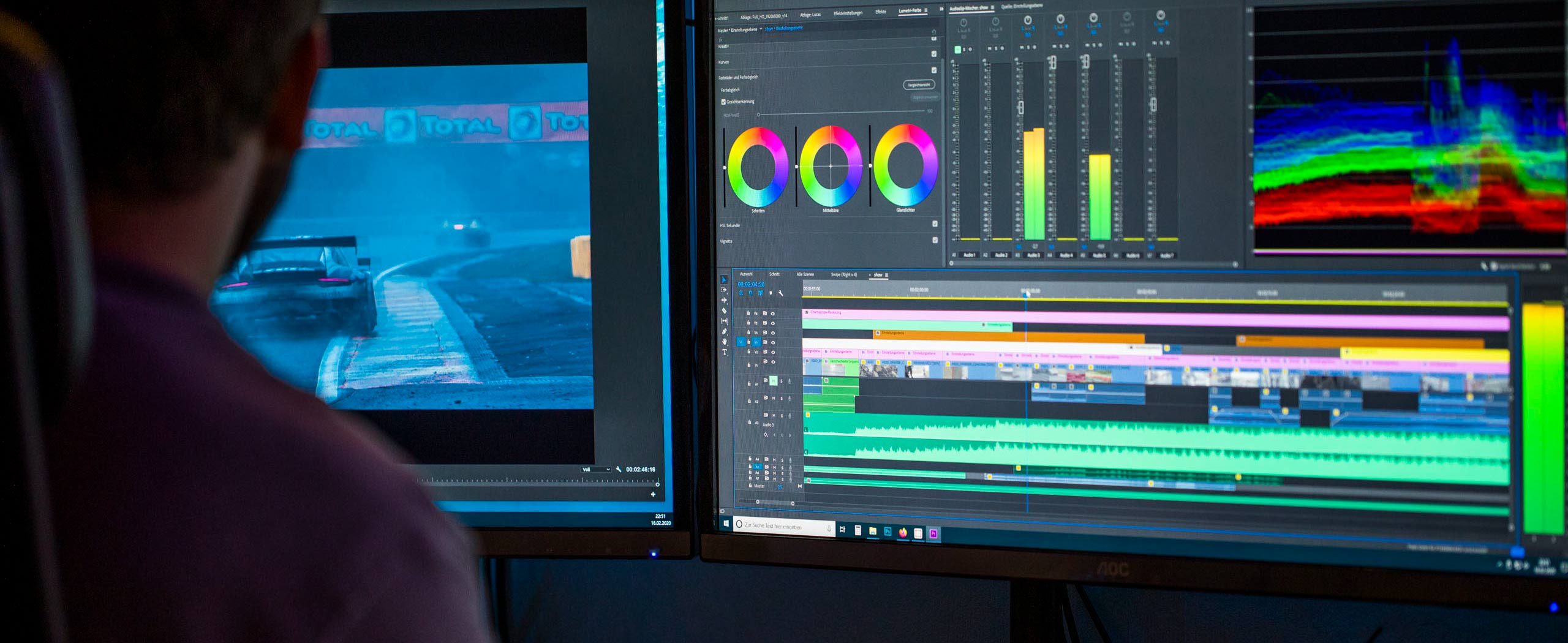 Video Editing Color Grading