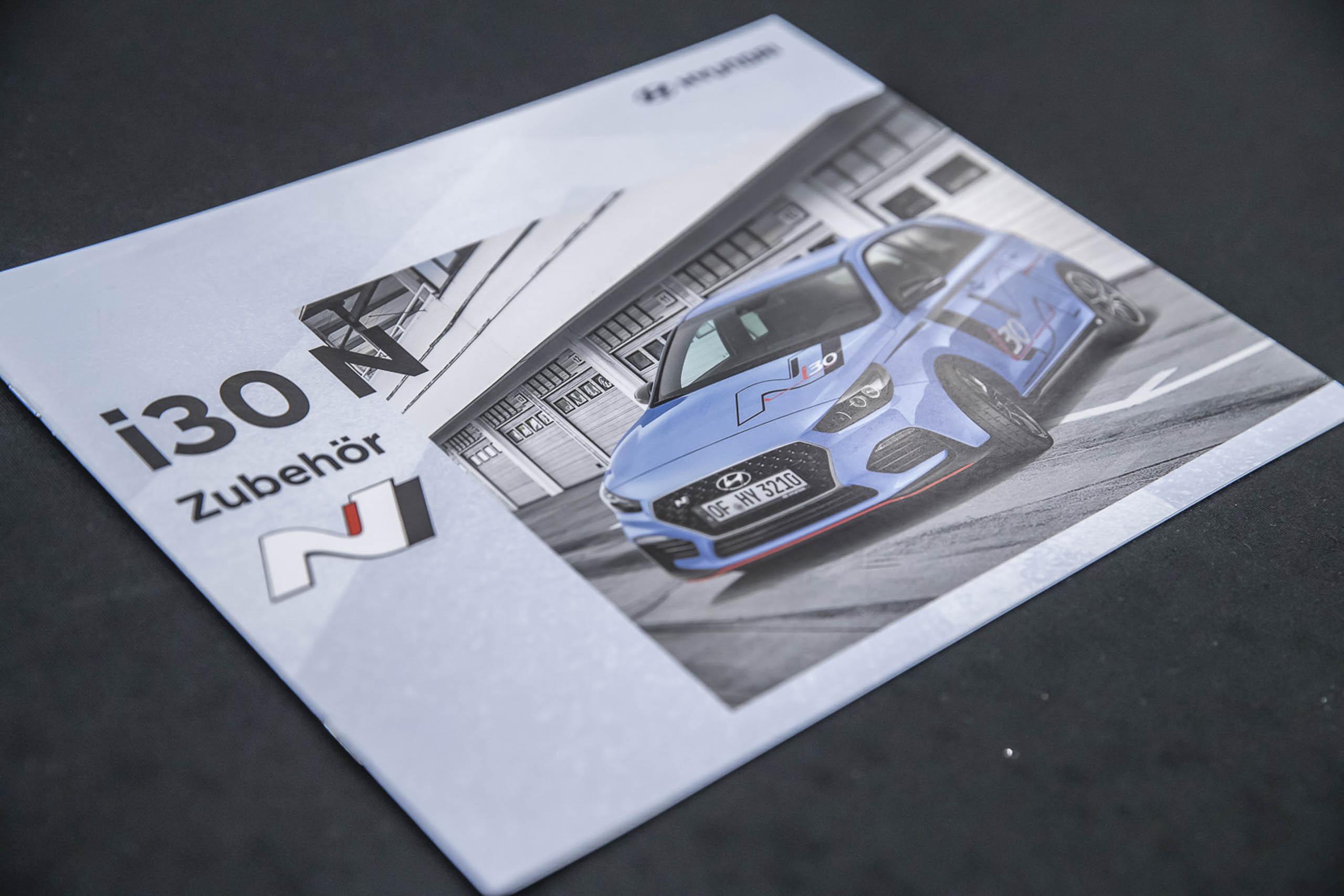Hyundai i30 N Zubehör Broschüre