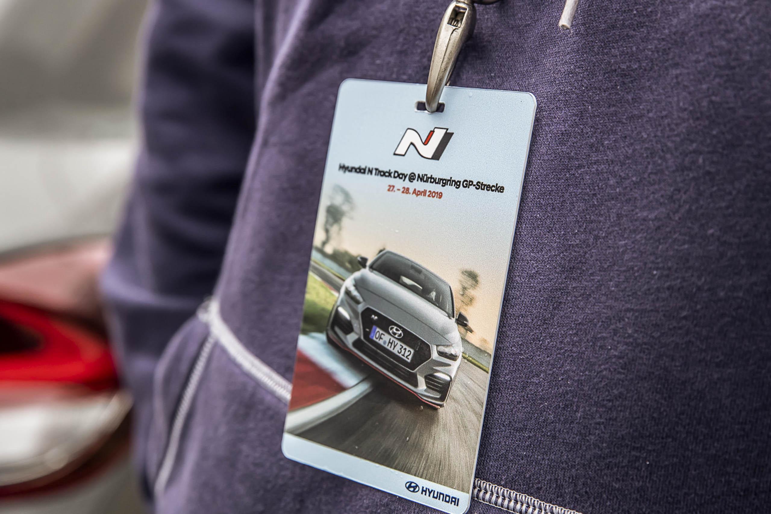Hyundai N Track Day Eintrittskarte
